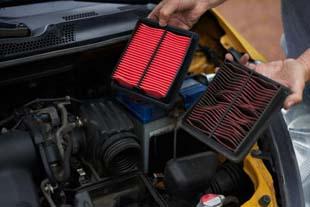 Descubra o que acontece quando o filtro de ar do motor está sujo